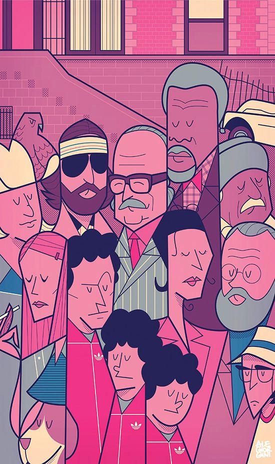 New Pop Culture Illustrations by Ale Giorgini