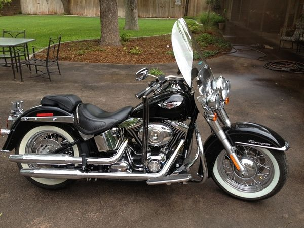 2007 softail deluxe for sale used 2007 harley davidson softail deluxe for sale abilene tx. Black Bedroom Furniture Sets. Home Design Ideas