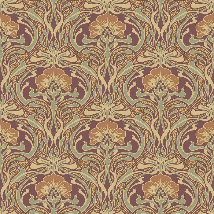Outstanding Woodward Floral 33 L X 20 5 W Wallpaper Roll In 2019 Interior Design Ideas Skatsoteloinfo