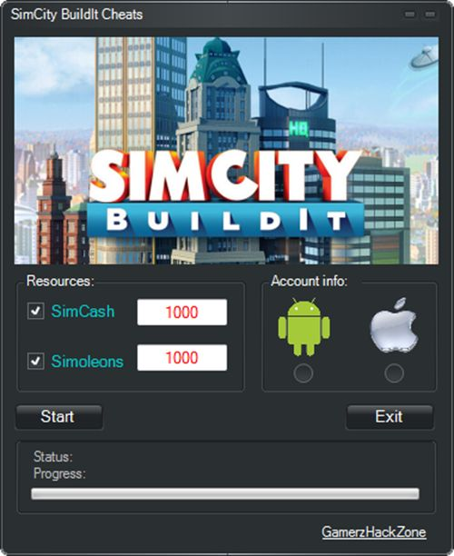 New SimCity BuildIt Cheats (SimCash/Simoleons) download working tool undetected.File updated 2016. No survey download new for SimCity BuildIt Cheats (SimCash/Simoleons)