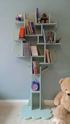 Handmade Tree Bookshelf