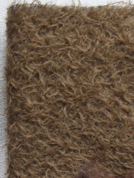 9 x 11 Antique Brown Mohair Fabric Square  by cheswickcompany, $7.95