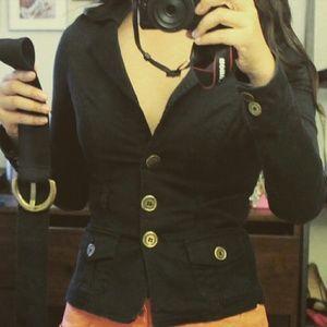 Jane Norman  Jackets & Blazers - SALE Black Jane Norman short fitted jacket