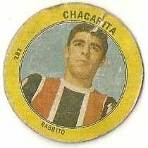 Figurita Futbol Golazo 1965 – Rabbito – Chacarita Fabi-