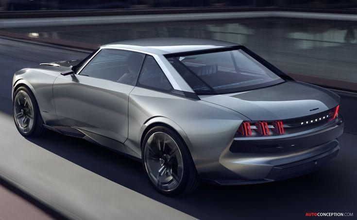 Peugeot Reveals Retro-Futuristic 'e-LEGEND' Idea