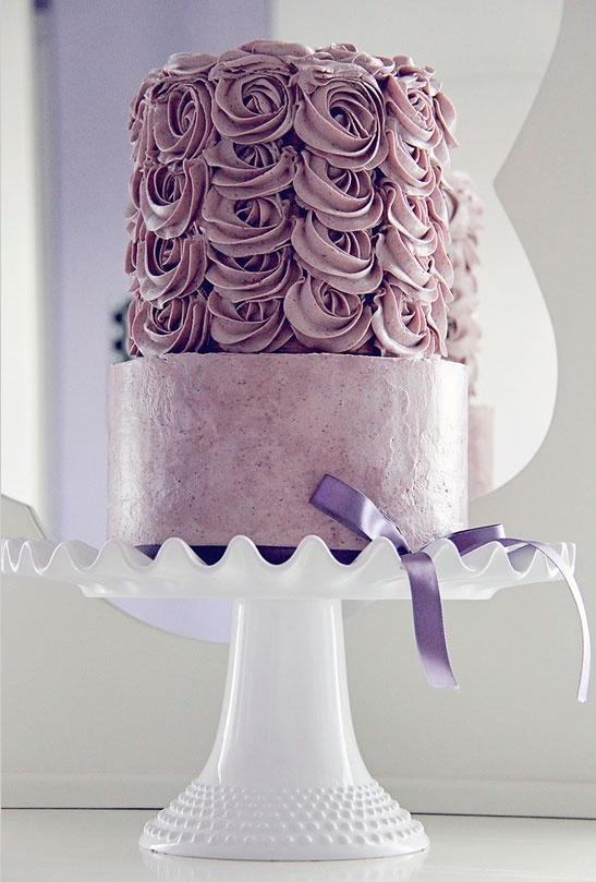 Galerie - Torten - Rosa/Lila