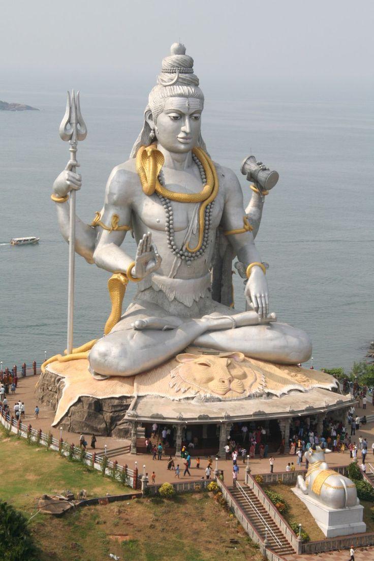 "hinducosmos:  "" Murudweswar Shiva Statue  Uttara Kannada District, karnataka, India  """