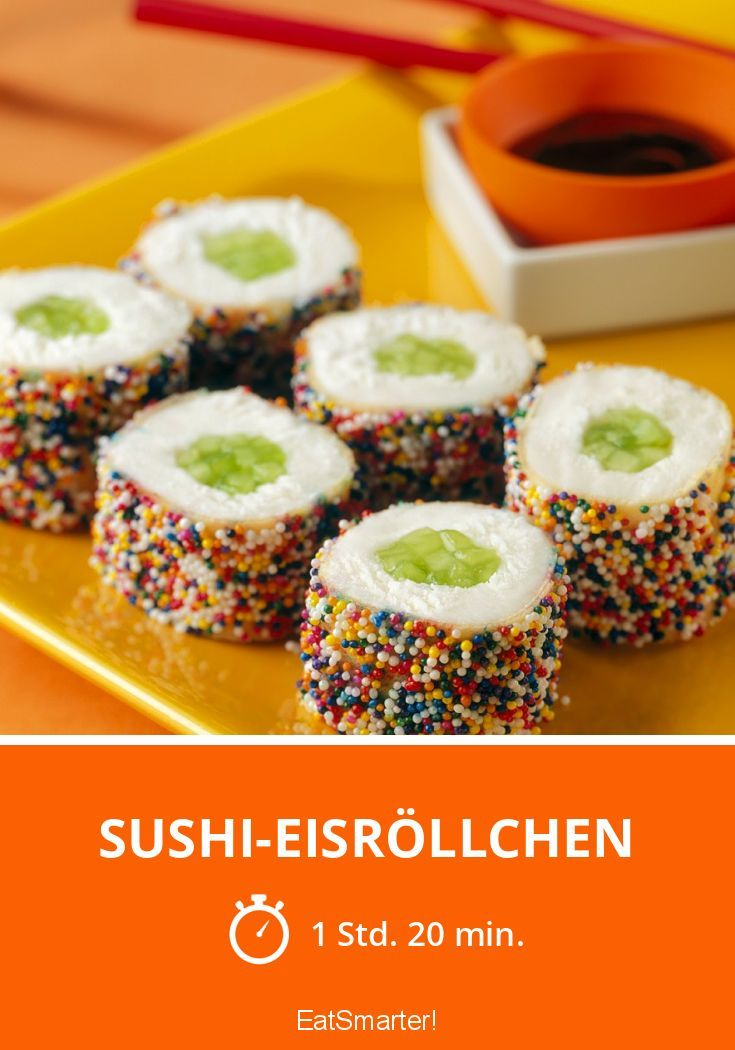 Sushi-Eisröllchen - smarter - Zeit: 1 Std. 20 Min. | eatsmarter.de