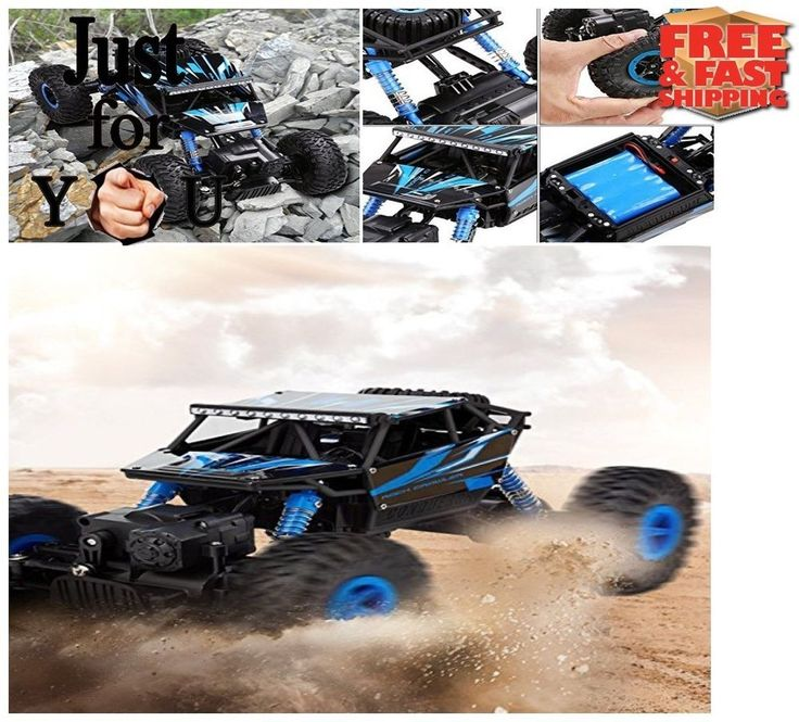 Christmas Gift For Kid Boy RC Car 2.4Gh 4WD Electric Remote Control Truck Truggy #CrossRace