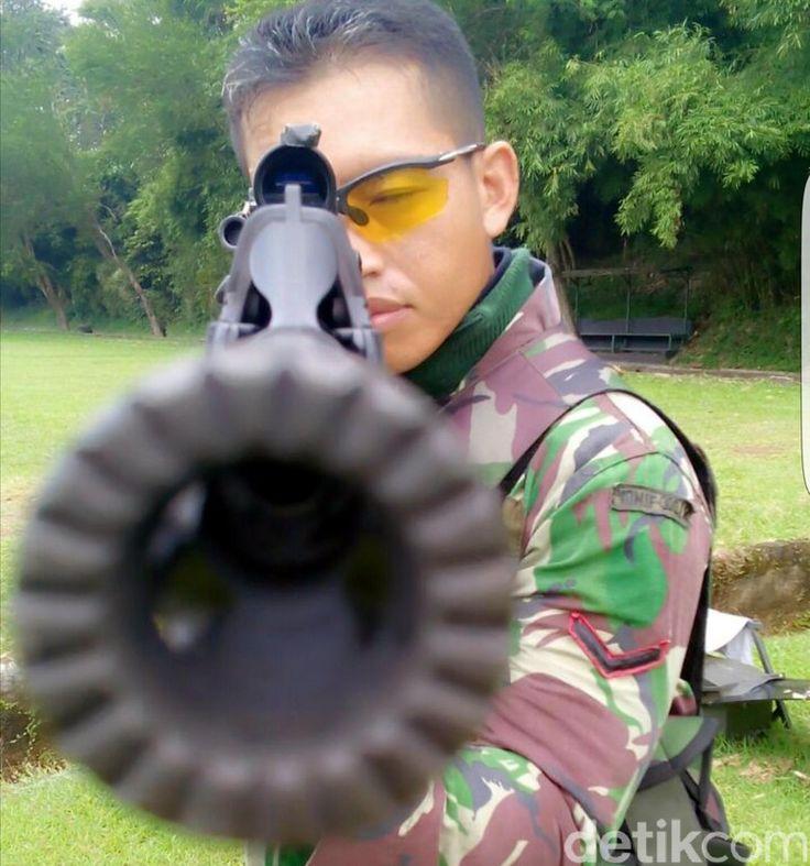 Perkenalkan, Ini Serda Dasep Penembak Jitu yang 2 Kali Bikin Bangga Indonesia