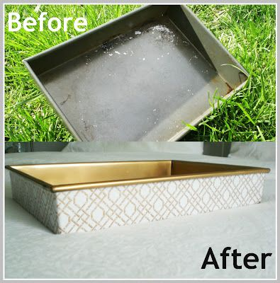 Transform and Ugly Cookie tray, to a luxurious versatile Tray!