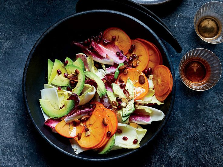 This best-ever fall salad gets flavor and color from persimmons, endive, avocado and pomegranate seeds. Get the recipe at Food & Wine.