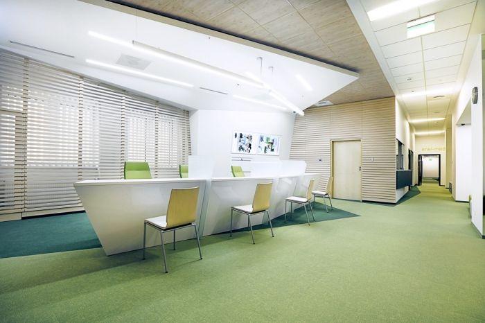 Interior for Enel-Med clinic in Promenada Shopping Mall, Warsaw - design - Archimed Architecture, photo