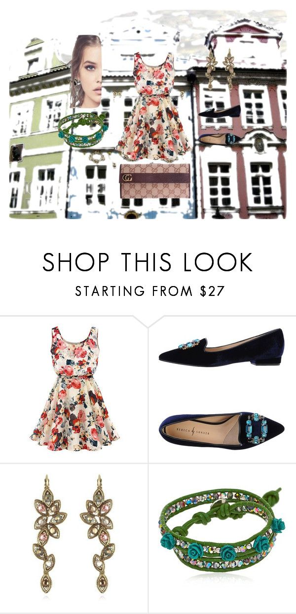 """""""Untitled #48"""" by twinsawyer ❤ liked on Polyvore featuring Chicnova Fashion, Rebeca Sanver, Colana and Gucci"""