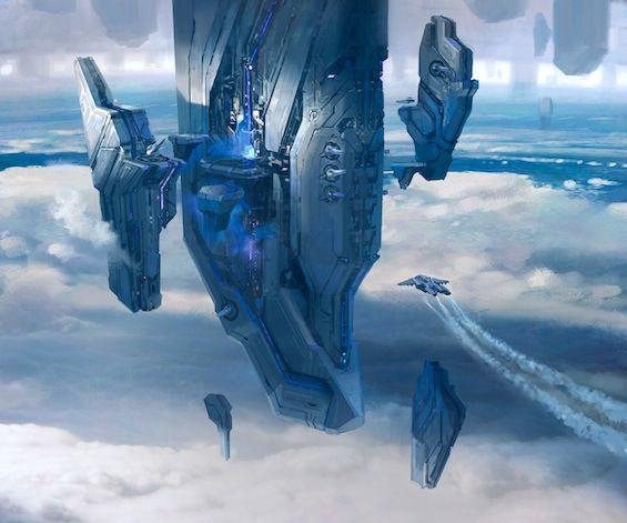 Cool Art From Titan Books' AWAKENING: THE ART OF HALO 4!!