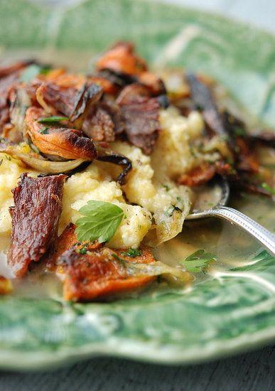 ... mushroom and beef mini burgers curried beef broccoli slaw mushroom