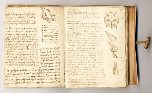 Leonardo da Vinci's mirror writing