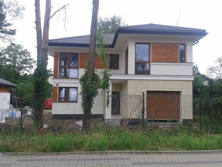 Front domu Riwiera 2 #elewacje #projekt #dom