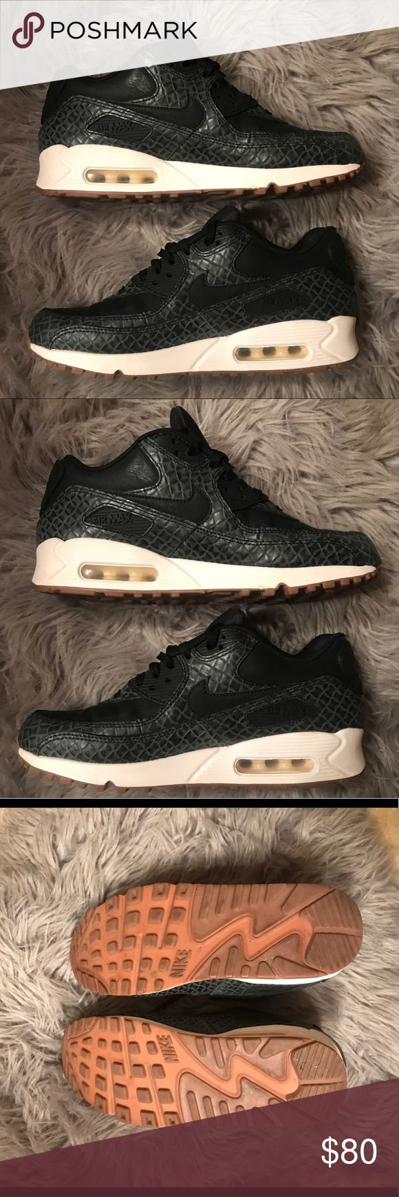 Nike Air Max 90 Nike Air Max 90 Leather  Worn for one day, great condition Size 9  I do not have the box Nike Shoes Athletic Shoes