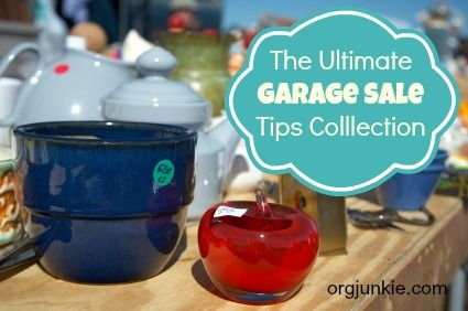 THIS ARTICLE CONTAINS APPS FOR AND ABOUT GARAGE SALES.   The ultimate garage sale tips collection