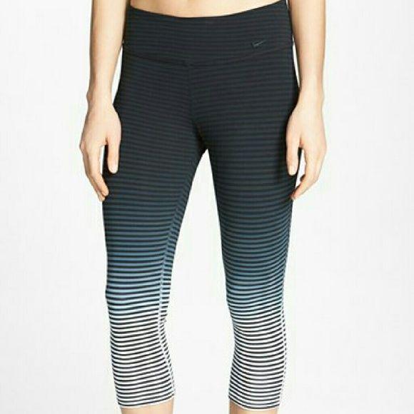"Nike ""Legend 2.0"" Dri-Fit Ombre Capris Great Nike Dri-Fit Capris ombre. Only worn a few times. Just too big for me. Nike Pants Capris"