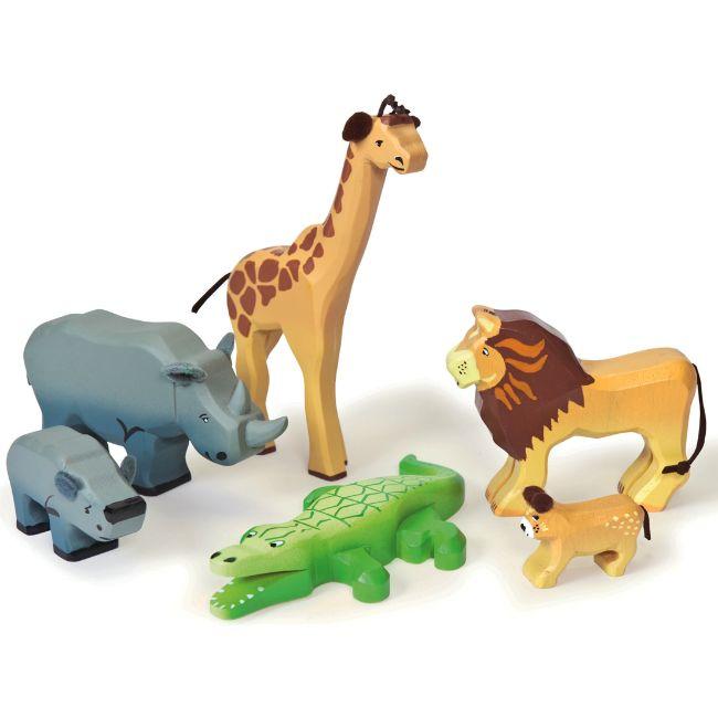 Le Toy Van Vilda Djur Savanna