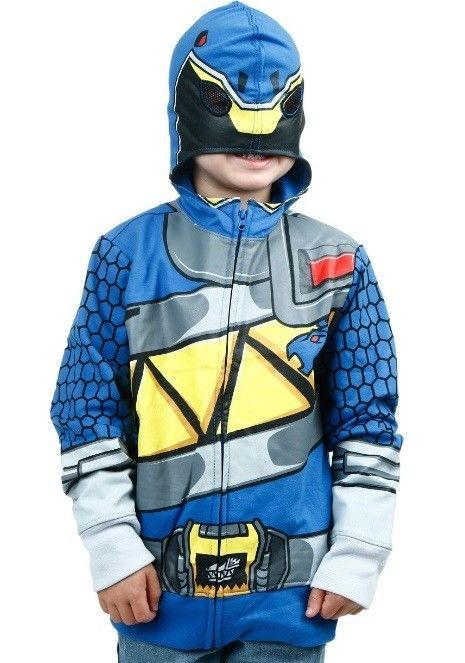 4662f7815c6a Power Rangers Hoodie NeW Boy's size 18/20 Blue Ranger Dino Charge Costume  Jacket #PowerRangers #PowerRangersHoodie #PowerRangersJacket ...