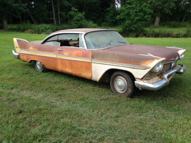 1958 Plymouth Fury Project Barn Find For Sale Photos Technical