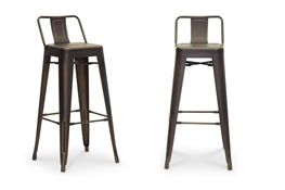 Baxton Studio French Industrial Modern Bar Stool in Antique Copper Chicago furniture, Chicago furniture stores, furniture in Chicago,Baxton Studio French Industrial Modern Bar Stool in Antique Copper ,Bar Furniturechicago