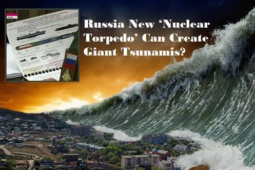 Rússia 'Torpedo Nuclear' pode causar TSUNAMIS Gigantes e acabar com todas Cidades litorâneas!