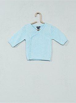 Niño 0-36 meses - Jersey para bebé de punto fino de algodón puro ... 1ea24600d432