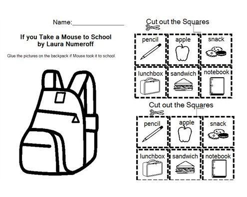 17 best If You Take a Mouse to School images on Pinterest