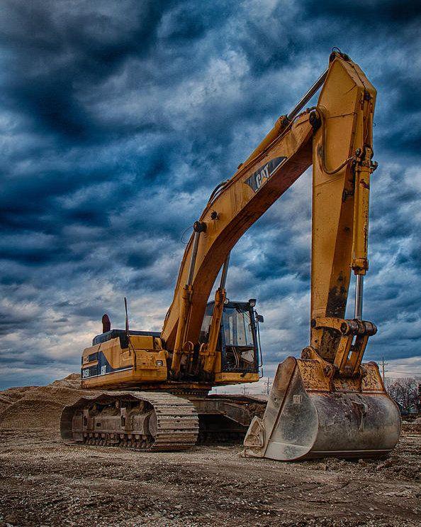 Ahnliches Foto Cat Excavator Cat Bulldozer Excavator