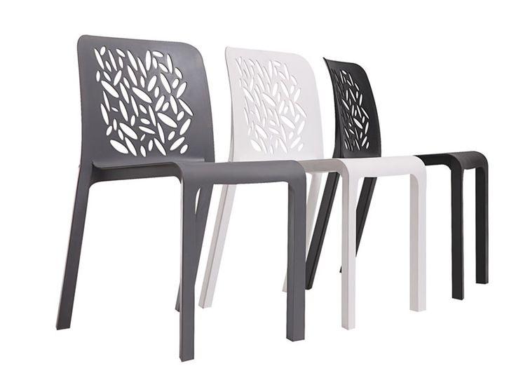 Modern Plastic Chair For Minimalist Home