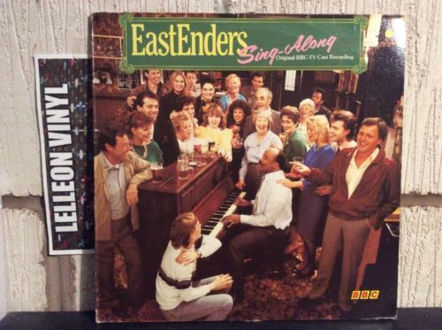 Eastenders Sing-Along BBC TV LP Album Vinyl Record Soundtrack 80's Music:Records:Albums/ LPs:Soundtracks/ Themes:TV