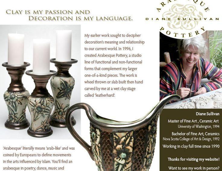 Diane Sullivan | Arabesque Pottery