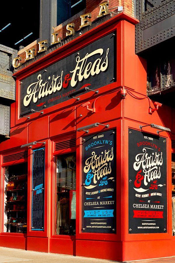 Artists & Fleas Chelsea Market on Behance