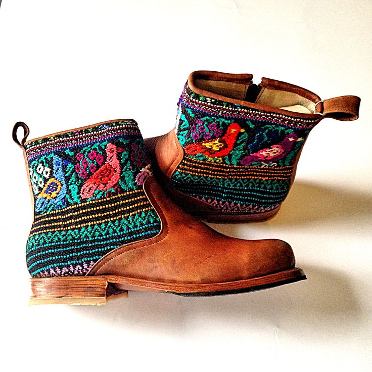 Beautiful botines! #customboots #handmade #guatemala #teysha