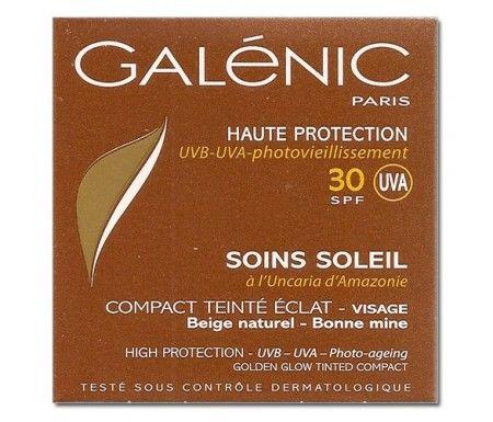 Galénic Soins Soleil Compact Teinté Eclat Visage SPF 30