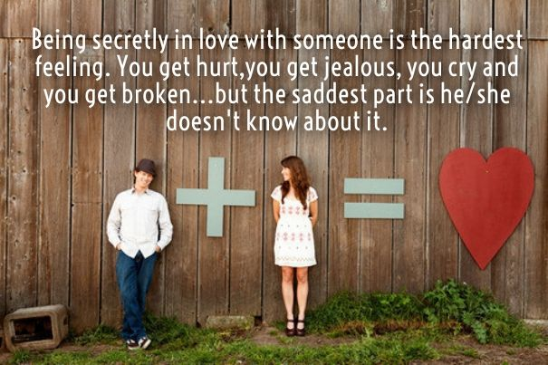 secret crush quotes for her images