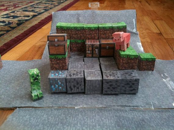 One Day Price - Minecraft Inspired Unofficial DIY Folding PaperCrafts 180 Printable Patterns To Craft - Instant Digital Download on Etsy, $5.99