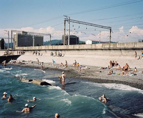The Sochi Project: An Atlas of War and Tourism in the Caucasus offers alternative perspectives on this corner of Russia as well as in-depth reporting on this remarkable region the site of the most expensive Olympic Games ever and one that sits at the combustible crossroads of war tourism and history. Available through the link in our bio . Image: @robhornstra Adler Sochi region Russia 2011from The Sochi Project: An Atlas of War and Tourism in the Caucasus (Aperture/The Sochi Project 2013)…