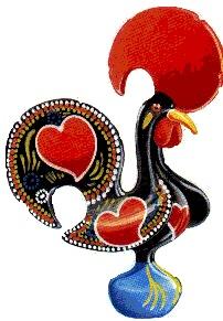 Le Coq de Barcelos....have one!!!!