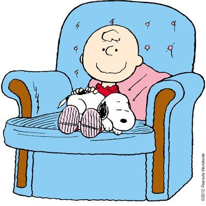 Happiness.... if Charlie Brown had a laptop in his lap in addition to his dog, this would be my life right now ((((snuggles with her dog))))