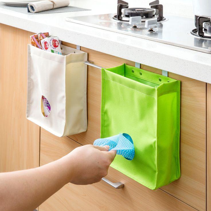 Купить товарПодвесной Шкаф Мусора Мешок Для Мусора Мешки Для Хранения Шкаф…