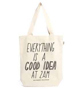 Talented Totes Sally Beerworth Everything is a Good Idea Tote Bag