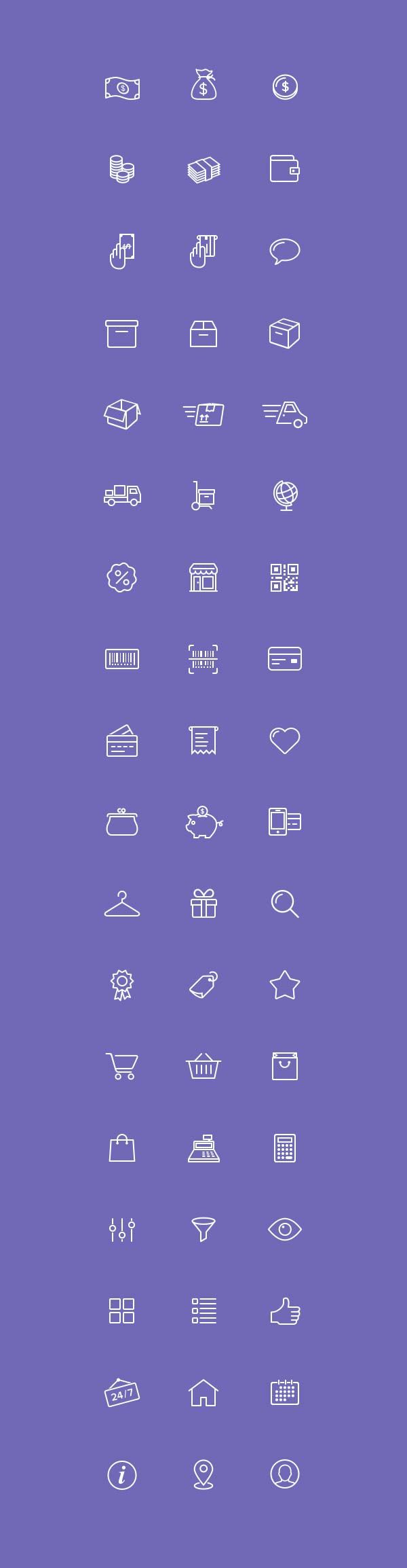 Free Download 54 E - Commerce Icons - PSD