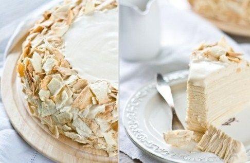 Крем для торта из сгущёнки и творога Творог (18%) – 1 пачка Сгущённое молоко – 2/3 б. Сахарная пудра – 1/2 ст. Приготовление: Смешать все ингредиенты, как в предыдущих рецептах, и взбить до получения однородной массы.