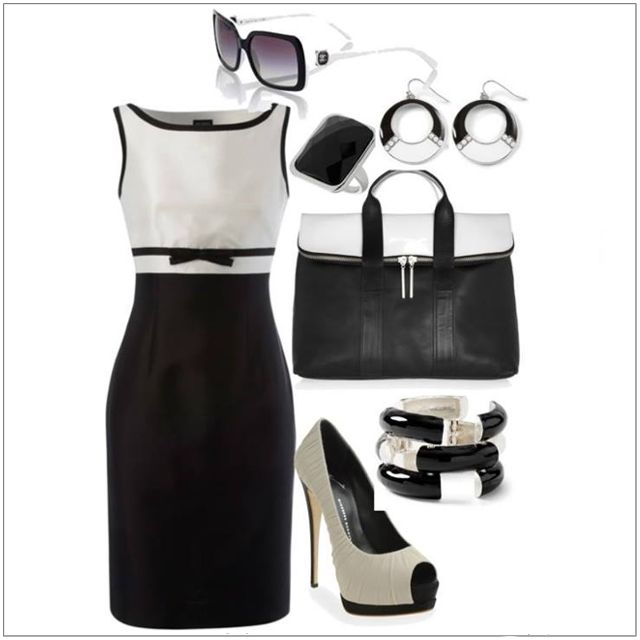 CHATA'S DAILY TIP: Mono chrome is here to stay! Make sure you have a black and white combination in your wardrobe this season, be it a shift dress or a printed skirt / pant – this monochromatic look is so easy to wear. Select either a mono chrome outfit OR accessories; to wear both outfit and accessories can be over powering. COPY CREDIT: Chata Romano Image Consultant, Wendy Hind http://chataromano.com/consultant/wendy-hind-2/ IMAGE CREDIT: Top Fashion's Facebook page