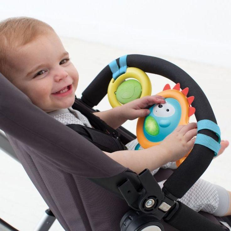 Wesoły spacer – zabawki do wózka